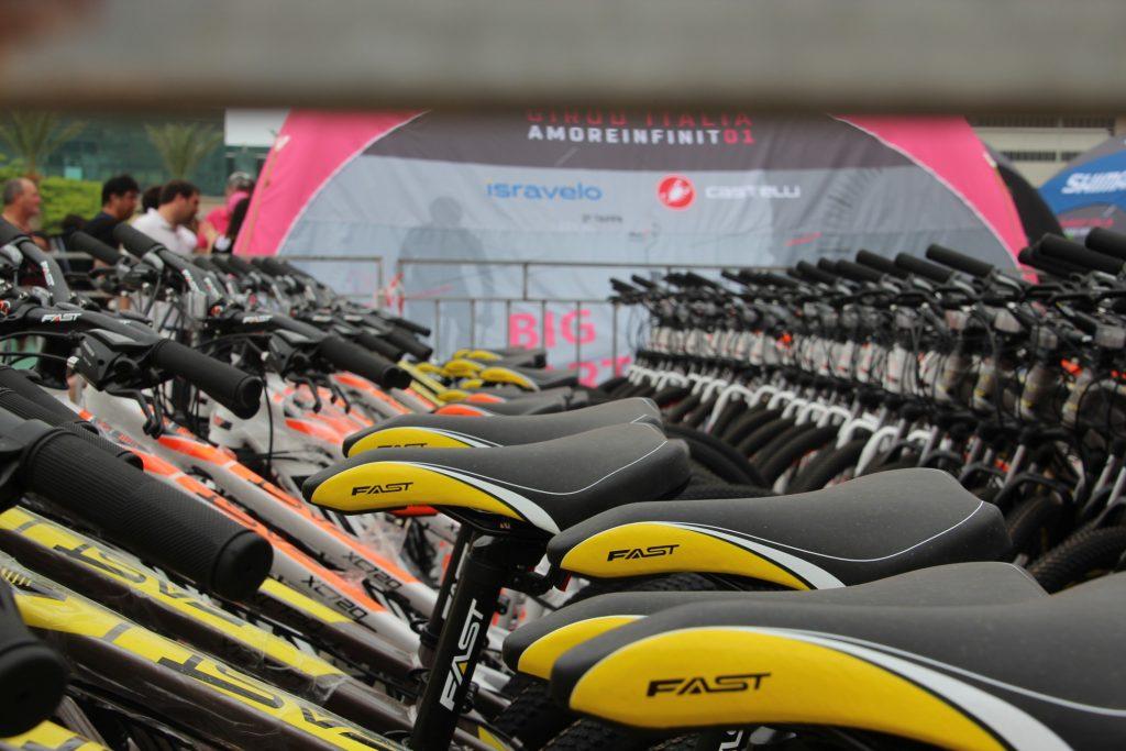 Giro d'italia bikes